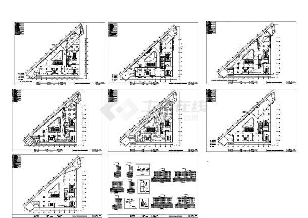 某公司二次装修电气竣工图CAD图纸-图一