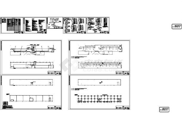 [四川]二类高层裙房建筑电气施工CAD图9张-图一