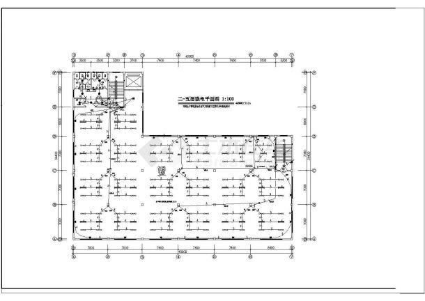 某地区大型厂房电气设计图(全套)-图二
