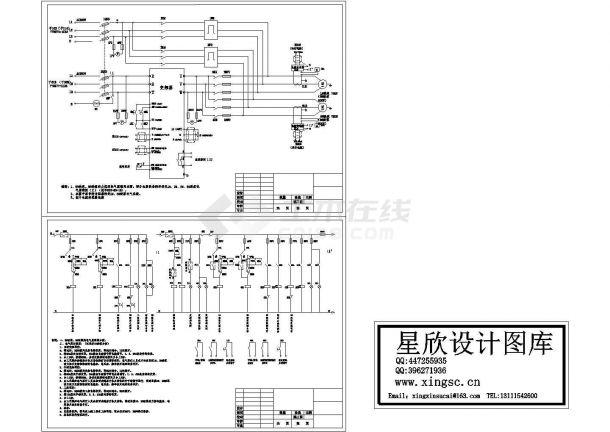酸泵电气原理图布置图-图一