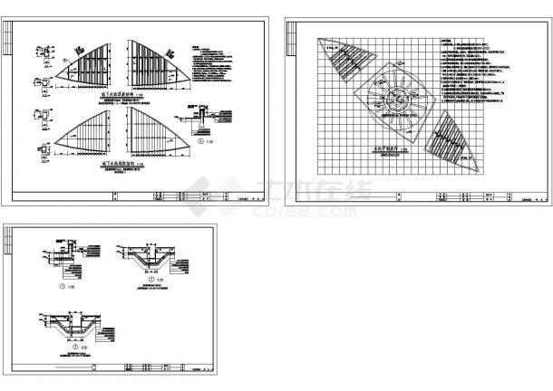 旱喷水池设计施工详图-图一