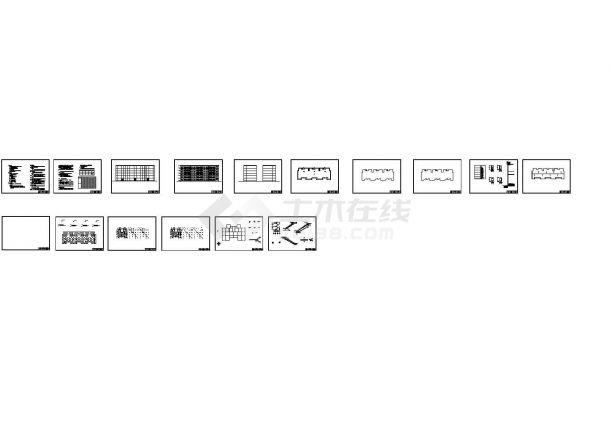 【6层】3329平米六层砖混住宅楼毕业课程设计(计算书、建筑、结构图)-图一