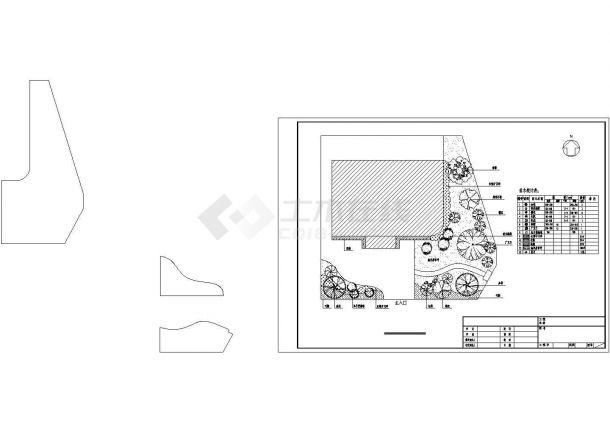 花园别墅景观绿化设计-图一
