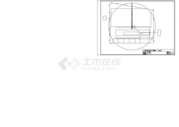局部五层教堂施工组织设计及工程量清单报价(含10张CAD图、施工总平图)-图二