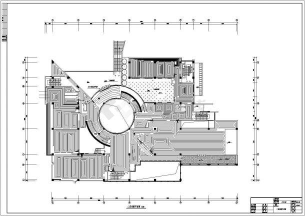 文化博物馆地板辐射采暖系统设计施工图-图二