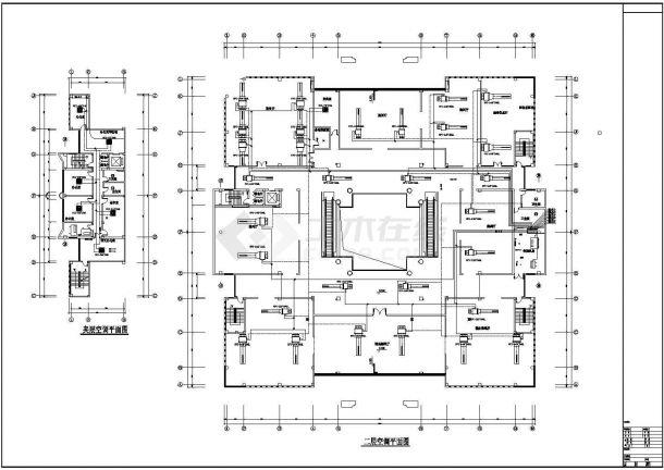 某博物馆空调施工图图纸-图一