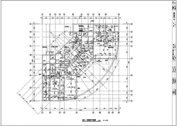 某地高层综合楼建筑给水排水设计施工图-图一