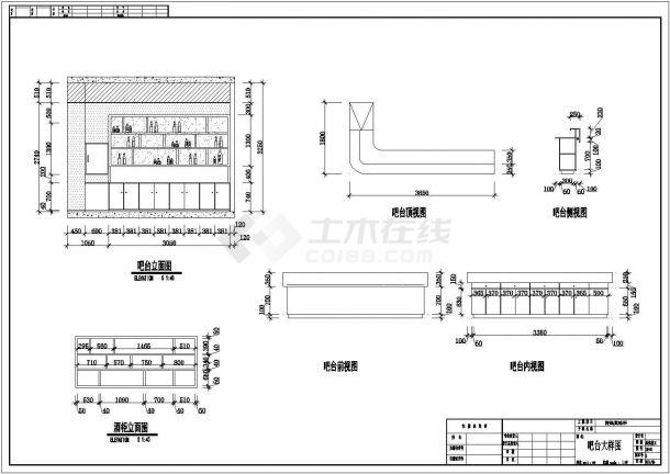 某地火锅店效果+装修CAD施工图+3D模型带灯光材质-图一