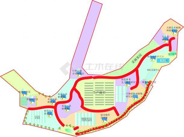 南京农业科技园区规划-图一