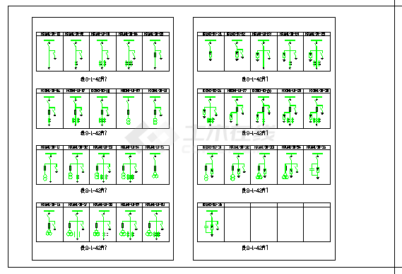 标注详细的高压开关柜电气原理方案-图二