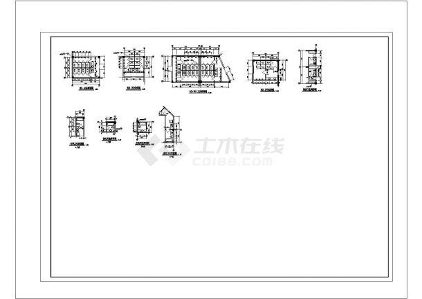 某地茶楼消防系统电气控制原理图(全套)-图一