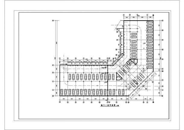 某地茶楼消防系统电气控制原理图(全套)-图二