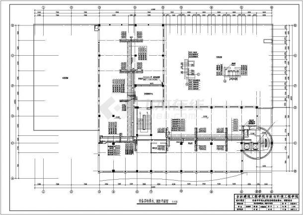宇伦大厦高层建筑给水排水、消防毕业设计-图一