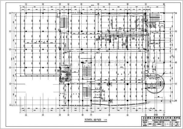 宇伦大厦高层建筑给水排水、消防毕业设计-图二