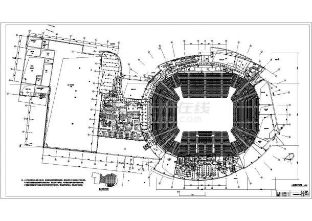 某大型体育馆智能照明系统图纸(二)-图一