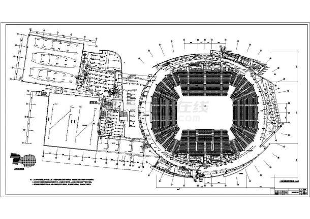 某大型体育馆智能照明系统图纸(二)-图二