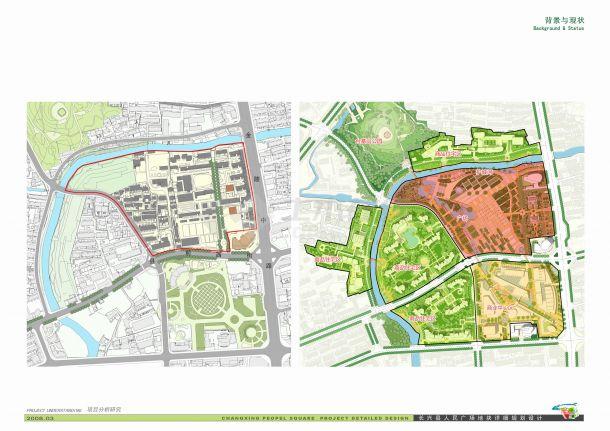 [浙江]绿色江南文化休闲广场景观设计方案-图二