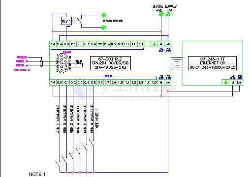 柴油发电机组并机控制器图纸(含设计说明)-图二