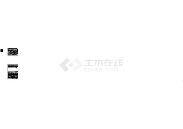 [大连]单层网架结构乙级室内田径馆建筑施工图-图二