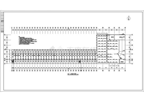 现代城伯乐苑地下车库给排水消防设计图-图二
