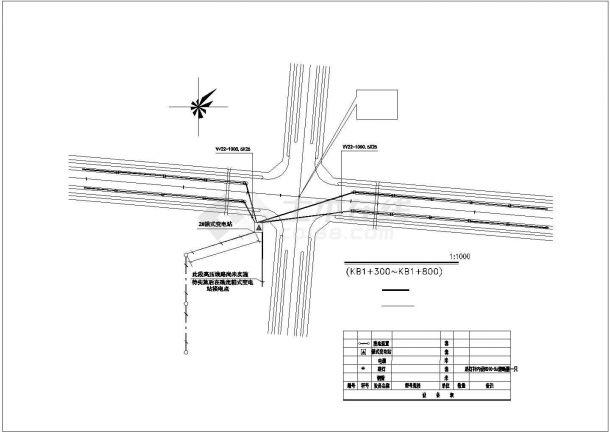 某地入口广场园林绿化设计图(共计6张)-图一