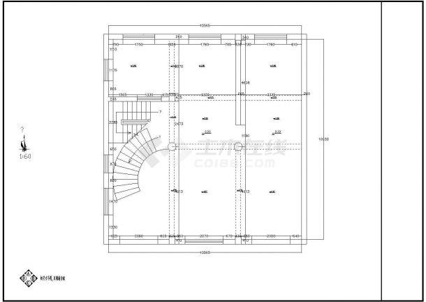 一套大型实用的别墅室内装修图纸(全套)-图二