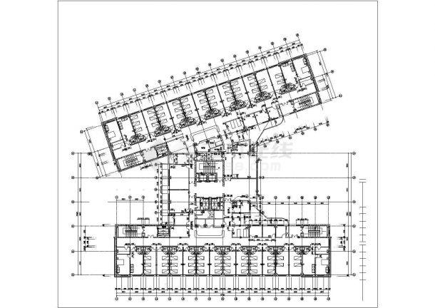 某地政府大楼前广场园林绿化设计图(共计5张)-图一