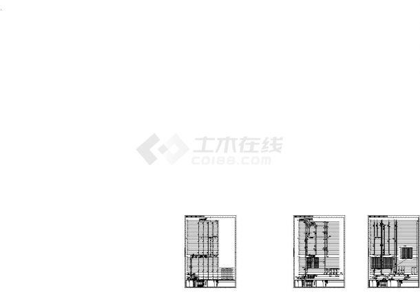 一类办公为主的超高层建筑给排水系统图-图二