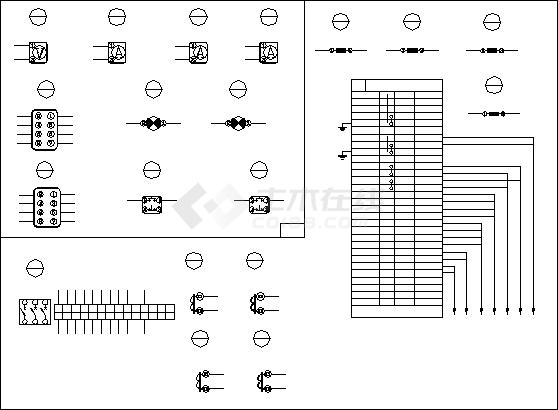 断路器设备电气控制原理图纸(全套)-图二
