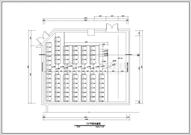 保利国际电影院设计方案全套CAD图纸-图一