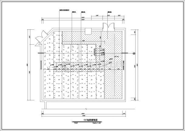 保利国际电影院设计方案全套CAD图纸-图二