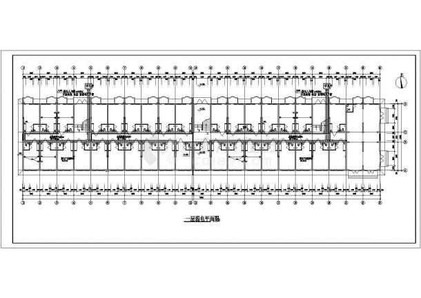 住宅公寓楼电气设计施工CAD图纸某-图二