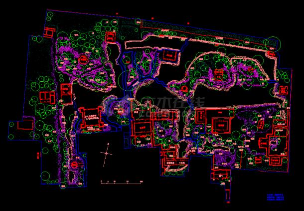园林绿化景观设计图-图一