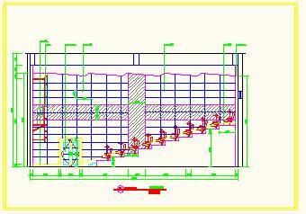 保利国际电影院全套cad设计施工方案图-图二