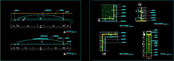 比较详细的商业银行分行营业厅装修设计图-图二