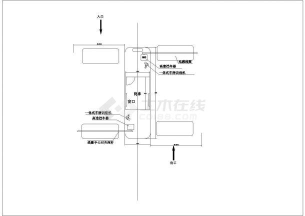 车牌识别智能化停车场管理系统图-图二