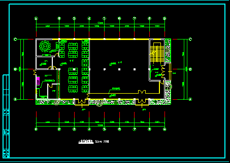 某综合楼建筑电气施工施工CAD方案图-图二