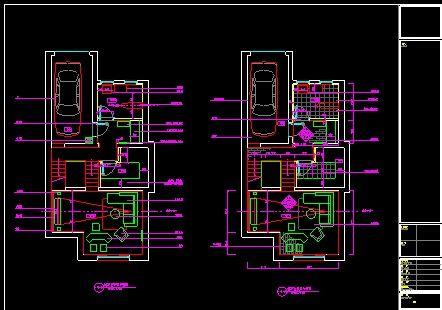 某古典风三层别墅CAD室内装修图纸-图二