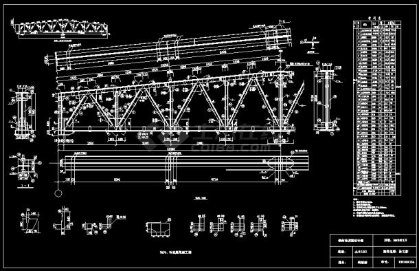 钢结构设计原理课程设计计算说明书-图一