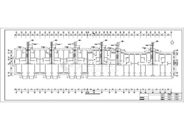 小型住宅楼地板辐射采暖系统设计施工图-图一