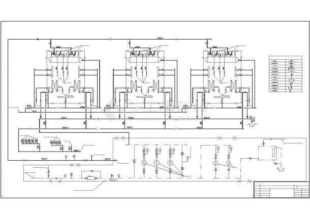 某集中供热锅炉房主体设计图纸-图二