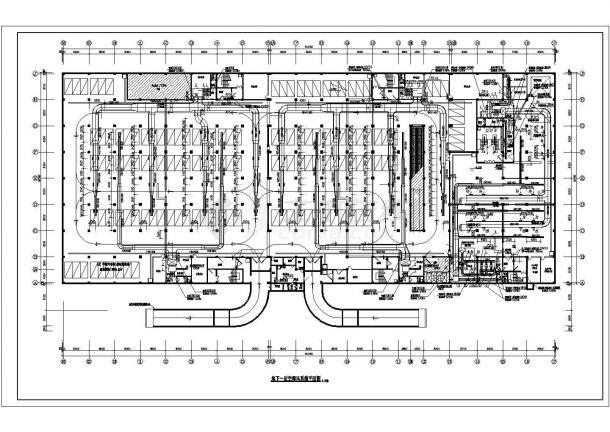 [抚顺]某商贸城通风空调工程施工设计图纸-图二