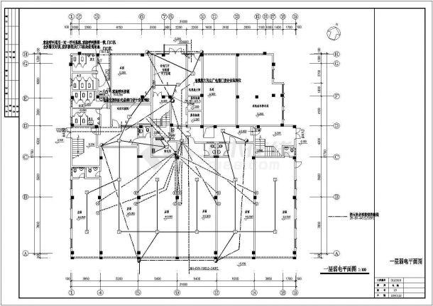 [福建]12层商住楼(点式)全套电气图纸-图一