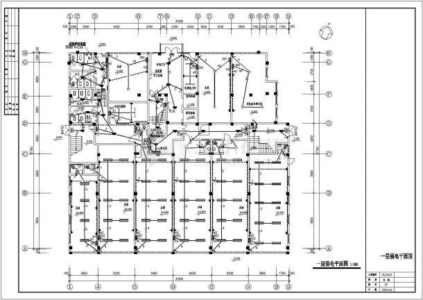 [福建]12层商住楼(点式)全套电气图纸-图二