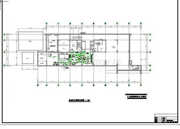 综合楼办公楼空调制冷机房设计-图一