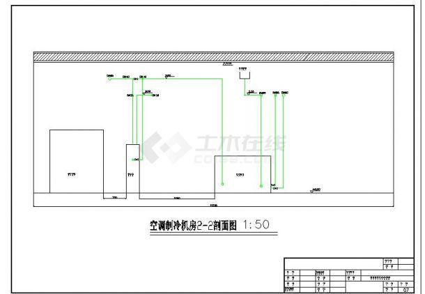 综合楼办公楼空调制冷机房设计-图二