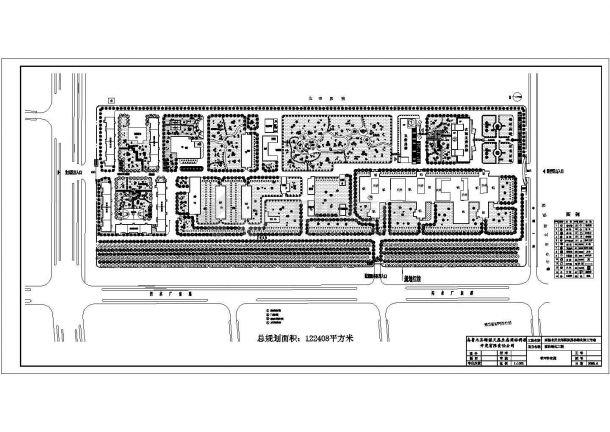 高新北区北郊医院园林绿化施工方案-图一