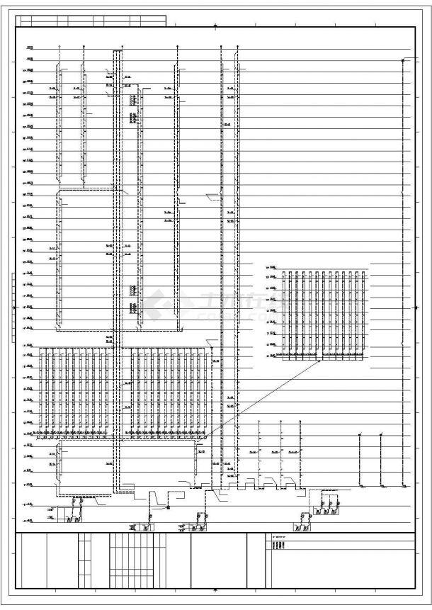办公为主的超高层建筑给排水系统设计施工图-图二