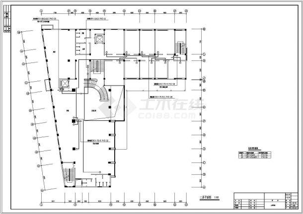 酒店电气设计图纸(约30张)-图一