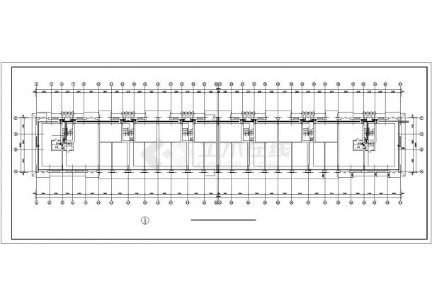 [黑龙江]小型住宅楼地板辐射采暖系统设计施工图-图一